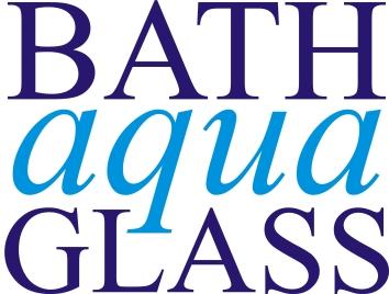 Bath Aqua Glass square logo